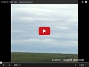 ICARUS Flight Test - Launch Camera 1