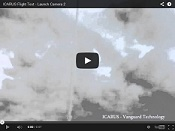 ICARUS Flight Test - Launch Camera 2